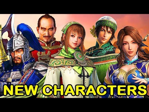 Dynasty Warriors 9 Details 5 Returning Characters + Dynasty Warriors 8 Comparison - 真・三國無双8