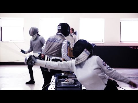 This is Lawrence - Division l Fencing