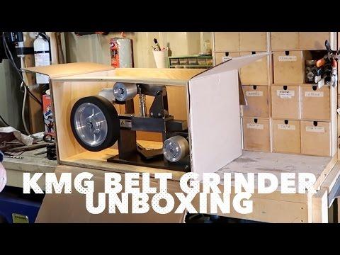 KMG Belt Grinder   Unboxing & Initial impression