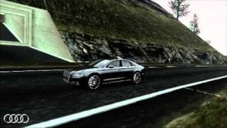 Grand Theft Auto IV - PC Editor: Audi A8 Quattro 2011 with Extreme Graphics + Laguna Seca Raceway