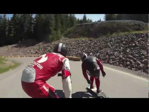 Predator Helmets - Whistler Longboard Festival 2012