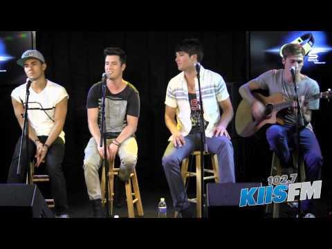 102.7 Kiis-fm: Big Time Rush windows Down Live Acoustic video