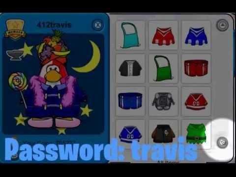 Free rare club penguin member account june 2012 youtube