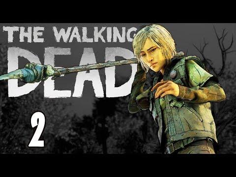 ОПАСНАЯ ЗАТЕЯ - The Walking Dead Final Season (финальный сезон прохождение на русском) #3