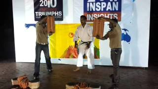 Prasanna Vasu Karate Performance