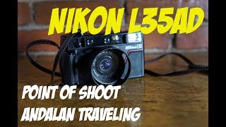 Kamera Point of Shoot Nikon L35AD (Giveaway kamera analog)