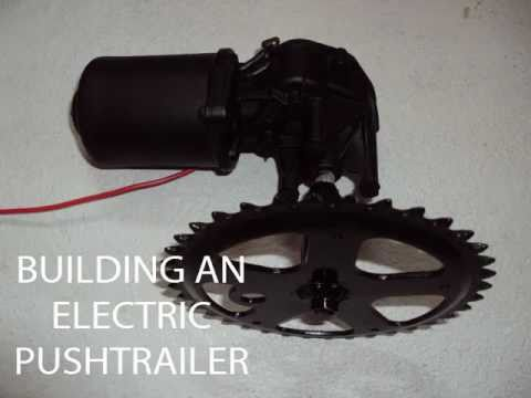 Electric Push Trailer