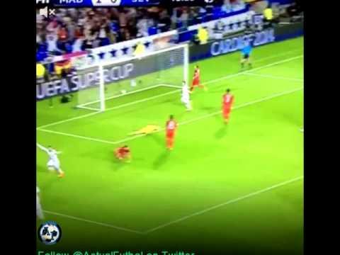 REAL MADRID 2-0 SEVILLE Le deuxième but de Ronaldo - Goal Ronaldo