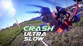 Ultra Slow Motion - FPV Drone crash