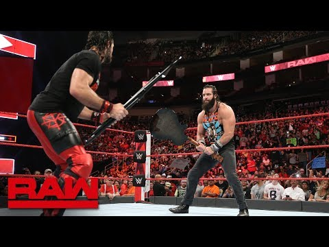 Seth Rollins interrupts Elias' disrespectful performance: Raw, June 4, 2018 thumbnail