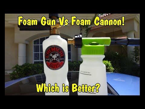 Chemical Guys Foam Gun vs Foam Cannon!