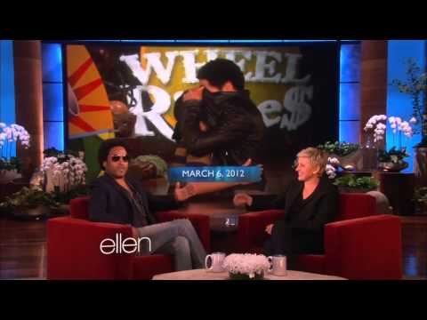Lenny Kravitz On Ellen Talks 'the Hunger Games: Catching Fire' video