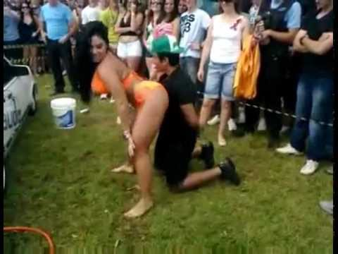 Girlfriend Catches Boyfriend Getting Lapdance From Brazilian Woman And All Hell Breaks Loose video