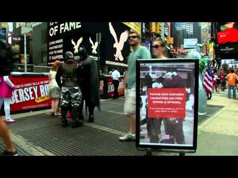 Times Square va-t-elle perdre ses supers héros ?