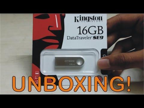Kingston DTSE9 16GB Pen Drive Unboxing