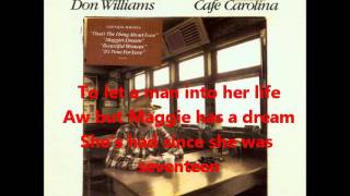 Watch Don Williams Maggie