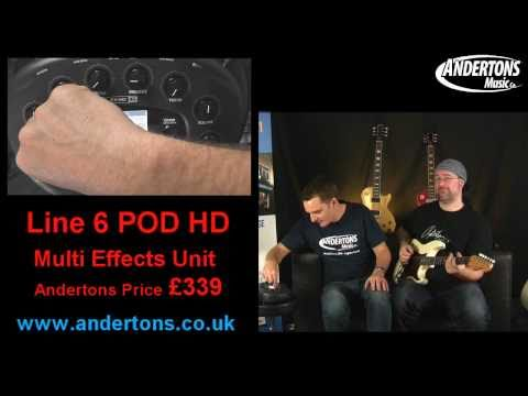 Line 6 POD HD - Part 1  (World Exclusive)