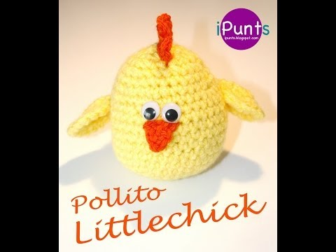 Tutorial pollito (amigurumi) paso a paso a crochet