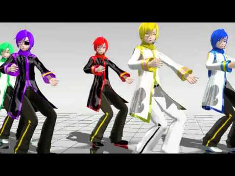 Mmd Kaito Sexi Love video
