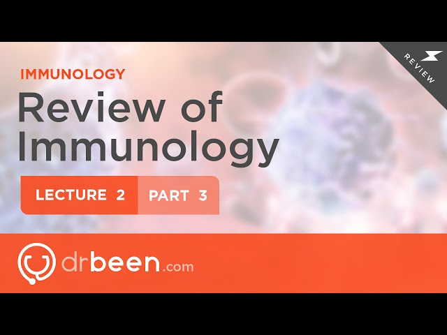 Immunology Lecture 2 Part 3