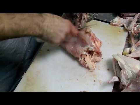 Как разделать курицу? Обвальщик мяса ЦЕХ