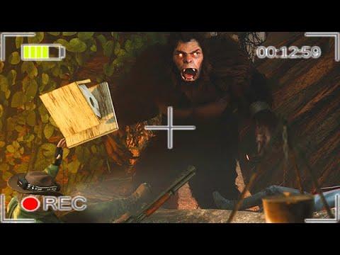HÖHLE von BIGFOOT gefunden und er WIRD SCHLAUER - Bigfoot 4.0 Gameplay