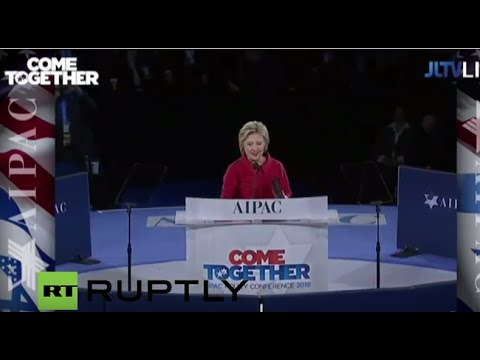 LIVE: Hillary Clinton to speak at AIPAC conference
