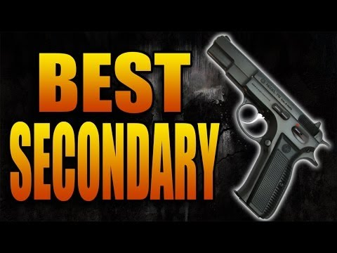 Best Secondary Weapon in Call of Duty Ghosts! (COD Ghost Best Pistol Gun in Multiplayer)