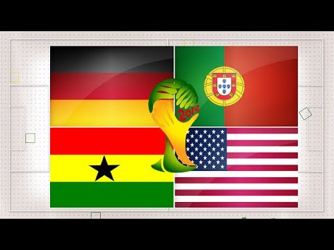 World Cup 2014 - Get To Know Group G - Germany, Ghana, Portugal, USA