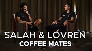 Salah & Lovren: Coffee Mates |