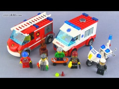 LEGO City Starter Set 60023 build & review!