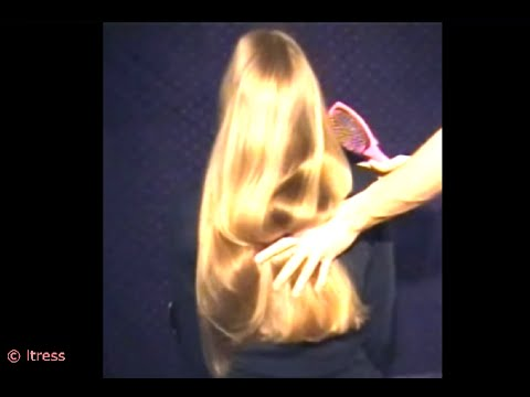 LTRESS - silkiest BLONDE PONYTAIL - EVER ! (BEST TO CLICK HD !!!)