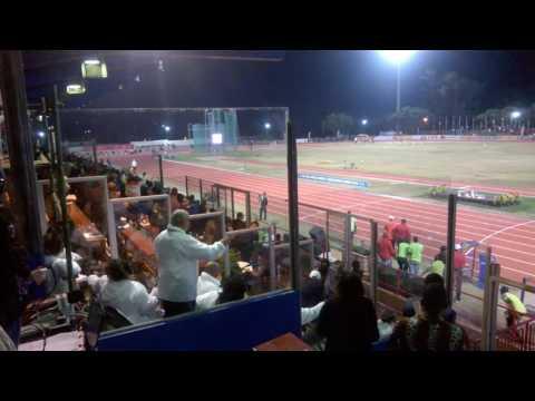 Caster Semenya 4x400m last leg - African championships - Durban, South Africa