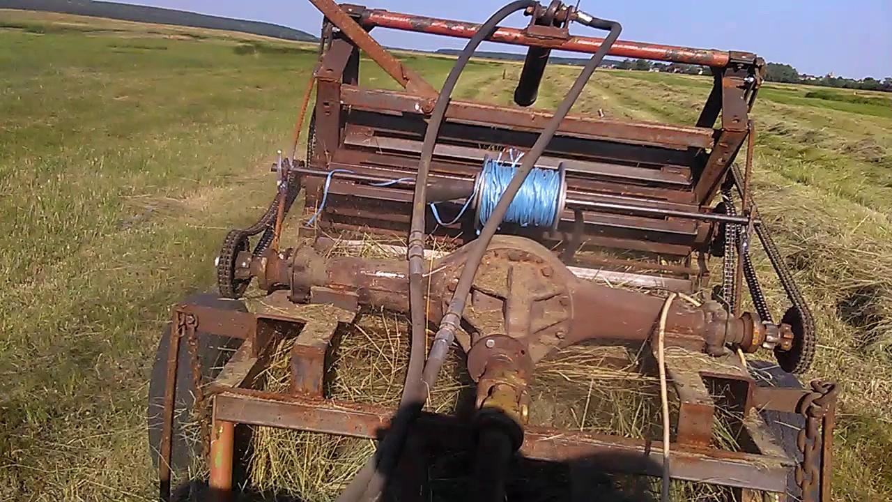 Самодельный подборщик для сена