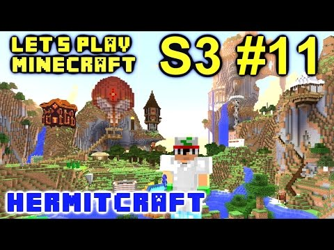 Minecraft Amplified Survival Ep. 11 - Dmac's Back !!! ( Hermitcraft Server )
