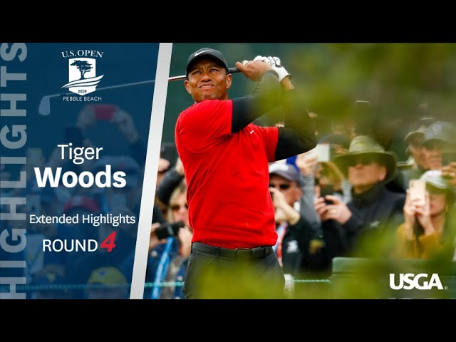 2019 U.S. Open: Tiger Woods Finishes With a Flourish thumbnail