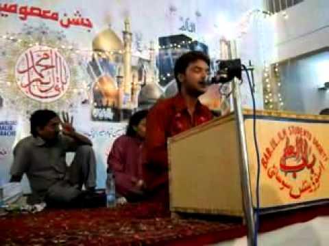 Mohsin Raza Manqabat 3 Shaban 2011 (hum Nay Mehfil Ko Doroodo Say Saja) video