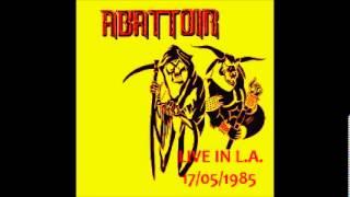 Watch Abattoir Under My Skin video