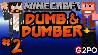 Dumb and Dumber on Minecraft -Ep.2 |Castaway Island|