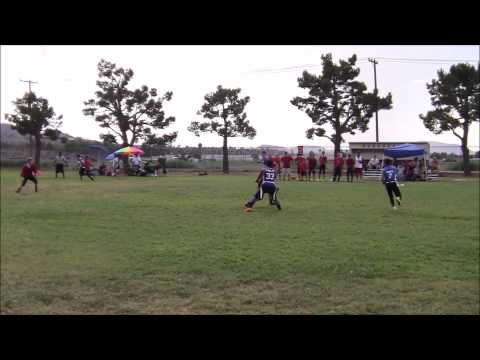 San Diego Academy Cavaliers (27) vs. Mesa Grande Academy (8) - 09/09/2014