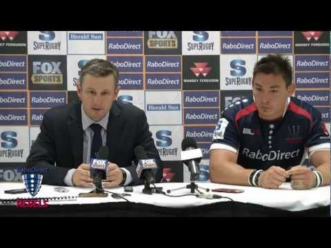 Rebels vs Brumbies post match press conference | Super Rugby Video - Rebels vs Brumbies post match p