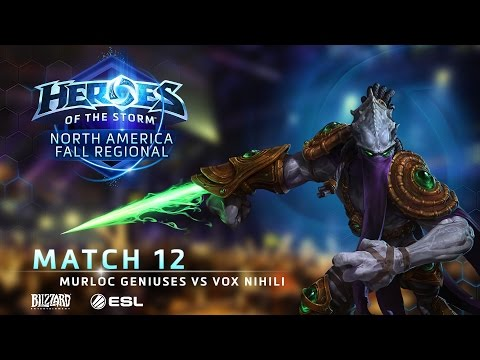 Murloc Geniuses Vs Vox Nihili - NA Fall Regional #1 - Match 12 | Group B Finals