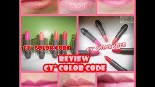 REVIEW labiales cyzone  ♥♥CY° COLOR CODE♥♥