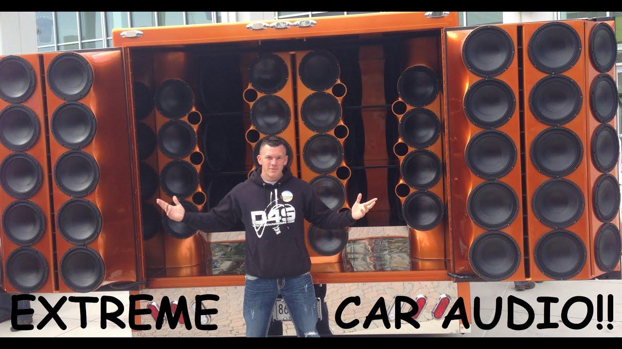 Extreme Car Audio Sbn 2013 Video 4 Loudest Vocal Setup