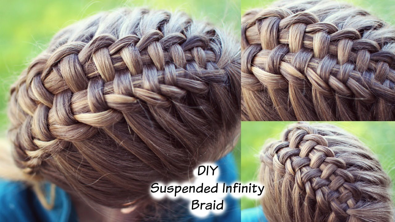 Braid Yourself Infinity Braid on Yourself