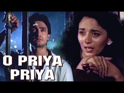 O Priya Priya (HD) - Dil Movie Song - Aamir Khan - Madhuri Dixit - Popular Hindi Song
