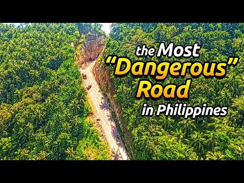 188KM Ride Tacloban to San Ricardo Port // Passing the Most Dangerous road in the Philippines