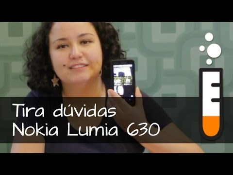 Lumia 630 Nokia Smartphone - Vídeo Perguntas e respostas