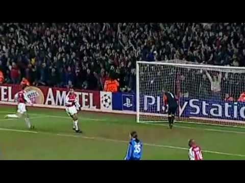 Dennis Bergkamp top 10 gols Arsenal