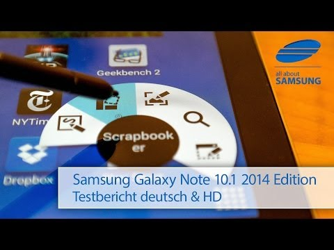 Samsung Galaxy Note 10.1 2014 Edition SM-P605 Review Testbericht deutsch HD